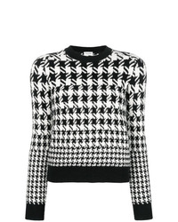 Saint Laurent Houndstooth Sweater