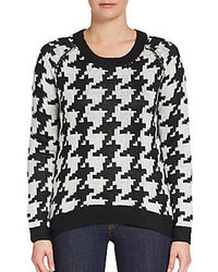 Houndstooth sweater medium 99871