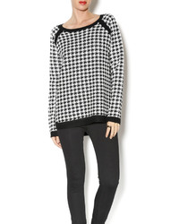 Jack Nolan Houndstooth Sweater