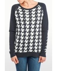 NYDJ Houndstooth Jacquard Sweater