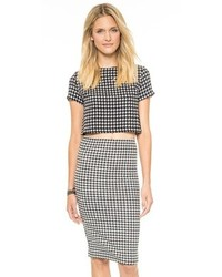 Houndstooth top medium 89220
