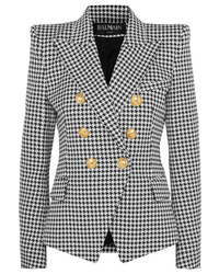 ba0000047e Black and White Houndstooth Blazers for Women | Women's Fashion ...