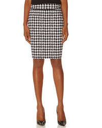 The limited printed piped waistband pencil skirt medium 89206