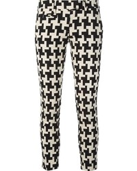Dondup houndstooth skinny trousers medium 126845
