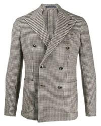 Al Duca D'Aosta 1902 Houndstooth Tweed Blazer