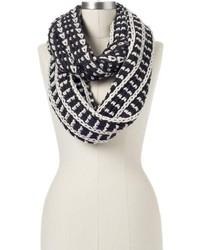 Birdseye chunky knit infinity scarf medium 127008