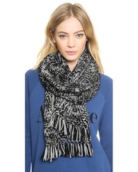 Madewell Color Shift Cable Scarf