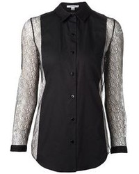 Carven Lace Sleeve Shirt