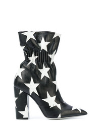 MSGM Star Print Elasticated Ankle Boots