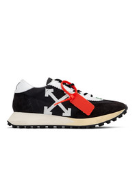 Off-White Black And White Running Sneakers