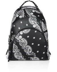 Sloane Bandana Luxe Leather Backpack