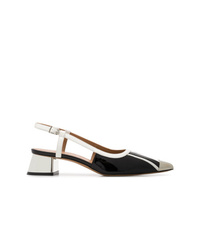 Marni Metal Toe Cap Pumps