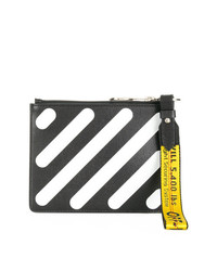 Off-White Diagonals Double Pouch