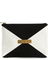 Marie Marot Colour Block Zip Clutch