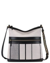 Elliott Lucca Gini Flat Leather Crossbody Bag