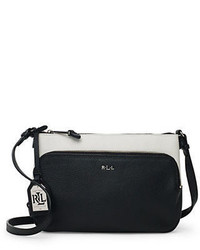 Lauren Ralph Lauren Harrington Colorblocked Crossbody Bag