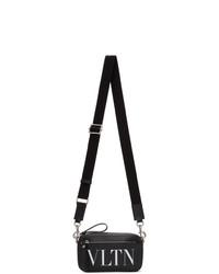 Valentino Black Garavani Mini Vltn Waist Bag