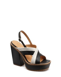 Bill Blass Babette Platform Slingback Sandal