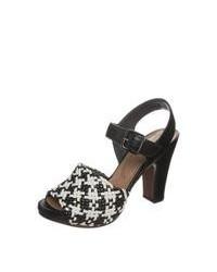 Chie Mihara Angelina High Heeled Sandals Black