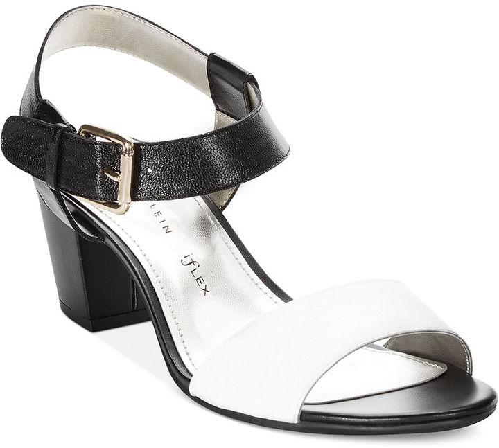 Anne Klein Petrona Block Heel Sandals