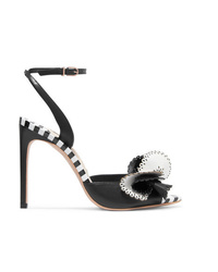 Sophia Webster Soleil Laser Cut Leather Sandals