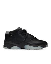 Axel Arigato Black Catfish Hi V2 Sneakers