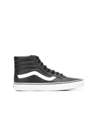 1f2fc18d0 Men s Black and White High Top Sneakers by Vans