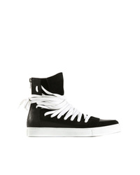 843ca609f Men s Leather High Top Sneakers from farfetch.com