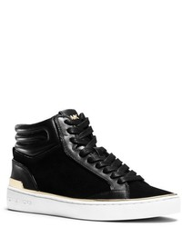 Michl kors kyle leather and suede high top sneaker medium 321914