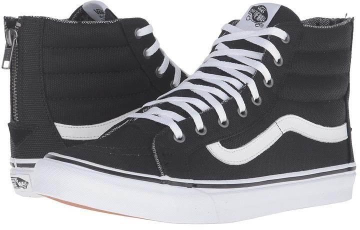 33f4c6adc1d9 ... Vans Sk8 Hi Slim Zip Skate Shoes ...