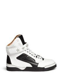 Givenchy Tyson High Top Star Stud Leather Sneakers