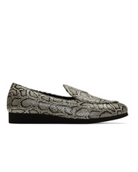 1017 Alyx 9Sm Black And White St Marks Loafers