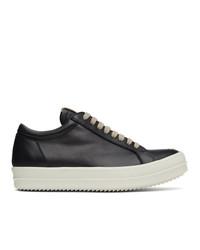 Rick Owens Black Vintage Low Sneakers