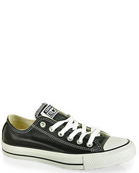 Chuck taylor leather sneaker medium 116286