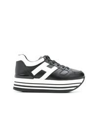 Hogan Colour Block Platform Sneakers