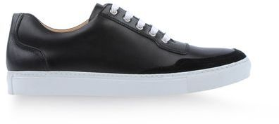 Clearance Recommend Low-top leather trainers Harrys of London Cheap Sale Lowest Price tJqiy