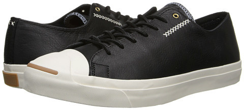 fae01e56fb56 ... Leather Low Top Sneakers Converse Jack Purcell Jack Cross Stitch ...