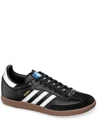 bfe356da5 adidas Originals Leather Samba Sneakers From Finish Line, $69 ...