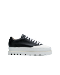 MM6 MAISON MARGIELA Ridged Platform Sneakers