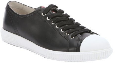 Prada Chaussures En Cuir Sport oQJK0kMn