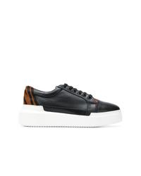 Sonia Rykiel Zebra Print Sneakers