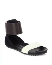 Pedro Garcia Jady Combo Leather Sandals