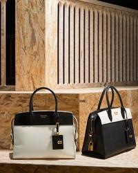 b3ca46937a714c Prada Esplanade Medium Bicolor City Satchel Bag Blackwhite, $2,470 ...