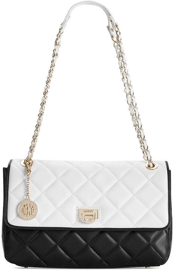 DKNY Gansevoort Quilted Nappa Shoulder Bag | Where to buy & how to ... : dkny quilted shoulder bag - Adamdwight.com