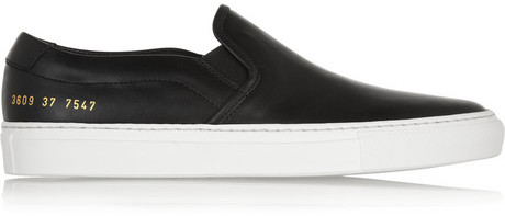 ... Common Projects Leather Slip On Sneakers ... a8cc288e651e