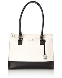 Calvin Klein 2 Tq Pebble Satchel Top Handle Bag
