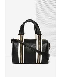 Nasty Gal Factory White Stripes Shoulder Bag