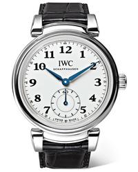 IWC SCHAFFHAUSEN Da Vinci Automatic 40mm Stainless And Alligator Watch
