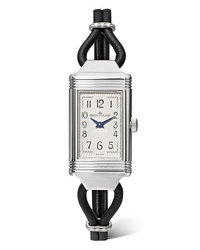 Jaeger-LeCoultre Reverso One Cordonnet 163mm Stainless Leather And Diamond Watch