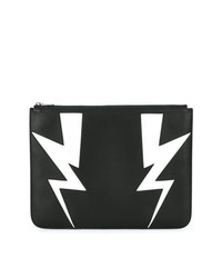 Neil Barrett Lightning Bolt Clutch